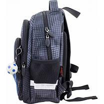 Рюкзак для мальчика Winner черный с машиной 1711, фото 3
