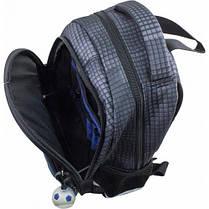 Рюкзак для мальчика Winner черный с машиной 1711, фото 2