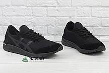 Кросівки чоловічі сітка чорні 41р, фото 3