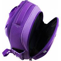Рюкзак для девочки Winner фиолетовый с мишкой  7006, фото 3