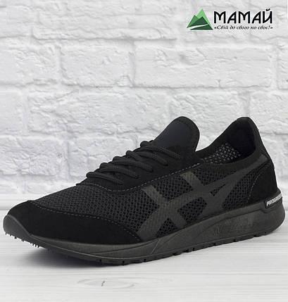 Кросівки чоловічі сітка чорні 41р, фото 2