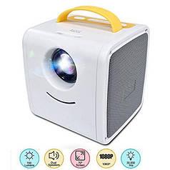 Міні проектор Kids Story Projector Q2 Біло-жовтий
