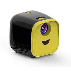 Міні проектор Kids Toy Projector L1 Чорно-жовтий
