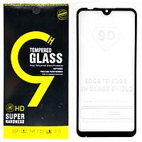 Защитное стекло 9D для Xiaomi Mi Play (Black)
