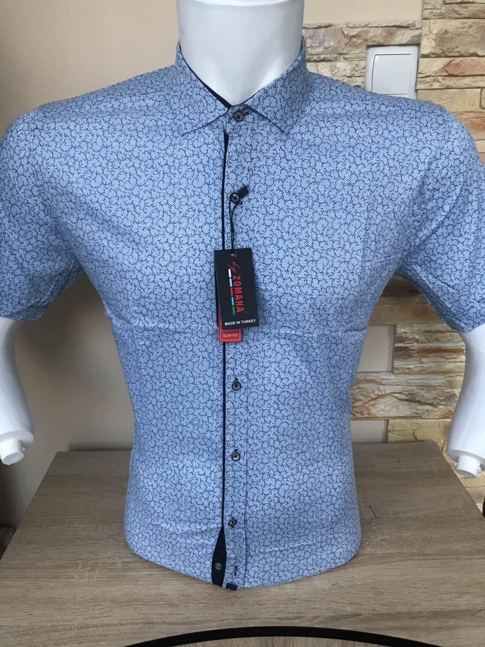 Рубашка с коротким рукавом Zomana с принтом