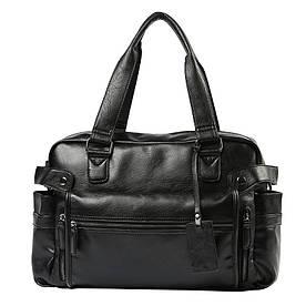 Дорожная сумка BritBag LX Black (MD-10004)
