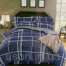 Комплект постельного белья из фланели евро размер ТМ Prestij Textile 469765
