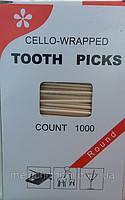 Зубочистка индувидуальная упаковка 1000шт/уп