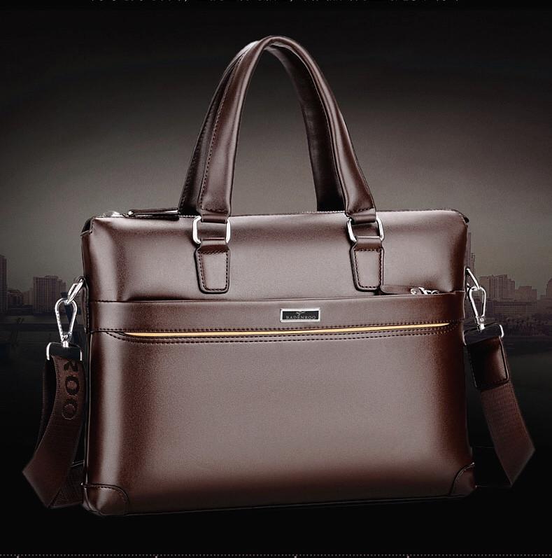 Мужская кожаная сумка. Модель 61323