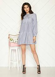 Платье стильное в расцветках 50126П