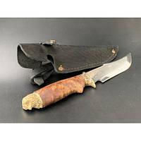 Нож охотничий Nb Art Сова 22k17 подарочный нож для охотника рыбака в чехле в ножнах