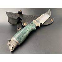 Нож охотничий Nb Art Кабан 22k16 подарочный нож для охотника рыбака в чехле в ножнах
