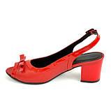 Босоножки женские Vasha Para 1333/9 36 цвет красный, фото 2