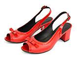 Босоножки женские Vasha Para 1333/9 36 цвет красный, фото 3