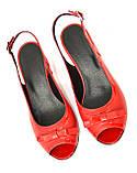 Босоножки женские Vasha Para 1333/9 36 цвет красный, фото 5