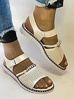 Хіт! Жіночі босоніжки на низькій платформі.Бежевий.Натуральна шкіра.Туреччина.Mario Muzi. Розмір 36 - 40. Vellena, фото 2