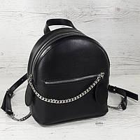 111 Натуральная кожа Городской рюкзак Кожаный рюкзак Из натуральной кожи Рюкзак женский черный рюкзак черный