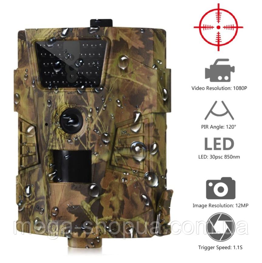Охотничья камера, фотоловушка, камера видеонаблюдения. Камера відеонагляду 12 MP / 1080P BG8134