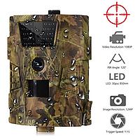 Охотничья камера, фотоловушка, камера наблюдения 12 MP/1080P