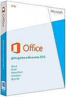 Microsoft Office 2013 Home and Business 32/64-bit Ukr DVD BOX (T5D-01783) поврежденная упаковка
