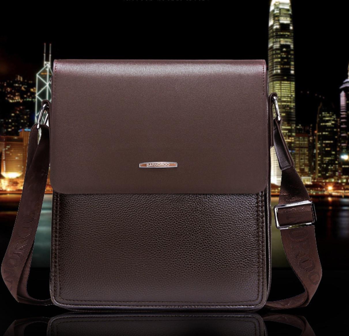 Мужская кожаная сумка. Модель 61326x