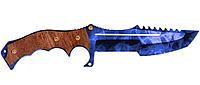 Нож Охотничий деревянный из игры Counter-Strike Global Offensive, Кристал