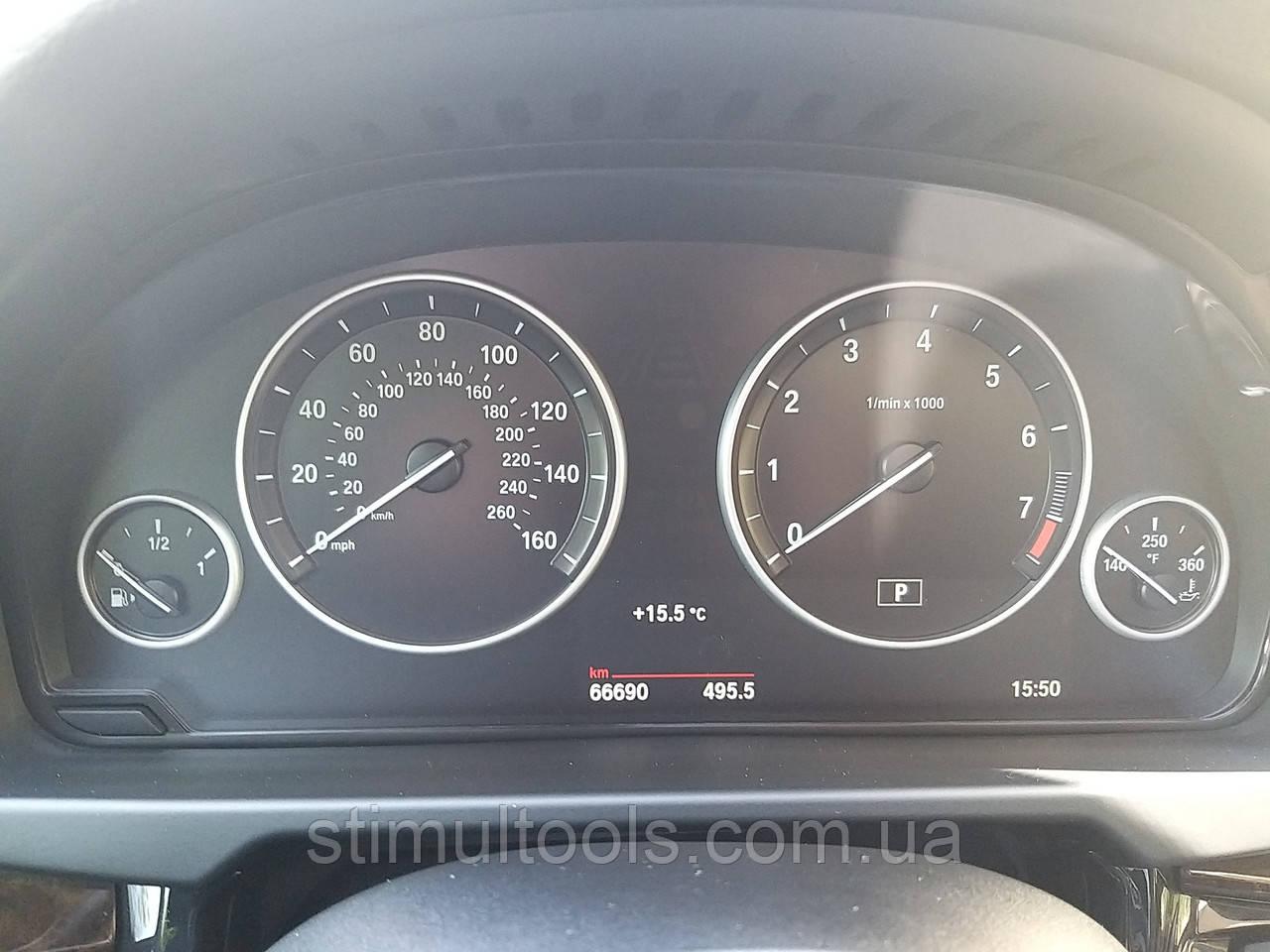 Панель щиток приборка BMW F15