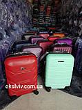 РОЗПРОДАЖ FLY K 310 Польща ручна поклажа валізи чемоданы сумки на колесах, фото 6