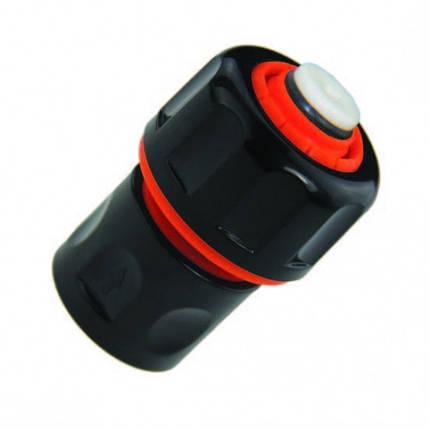 Конектор з'єднувач для шлангу діаметром 3/4 з аквастопом, фото 2