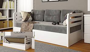 Детская кровать Немо Люкс с подъемным механизмом ТМ Arbor Drev