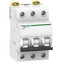 Автоматический выключатель трехполюсный iK60N C 50A 3P Schneider Electric (A9K24350)
