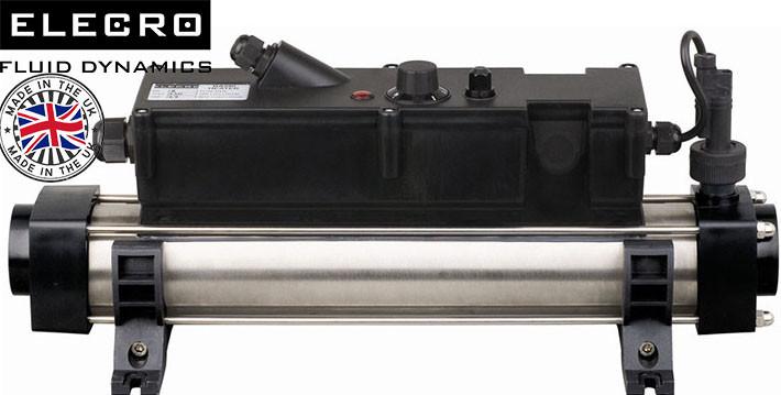 Elecro Flow Line 803B Incoloy/Steel 3 кВт 230В электронагреватель для бассейна