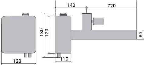 Vagner EOV 15 кВт электронагреватель для бассейнов, фото 3