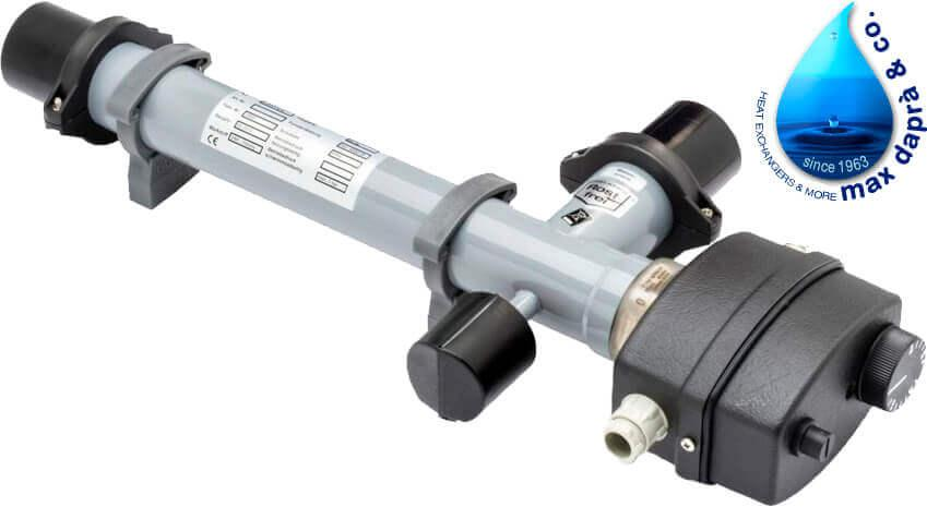 Maxdapra Economy D-EWT-VA, 6 кВт электронагреватель для бассейна