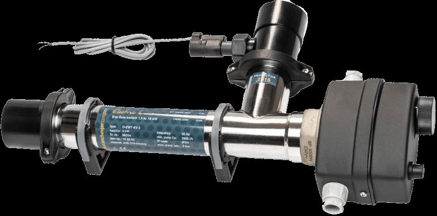Maxdapra Evo D-EWT-VA, 3 кВт электронагреватель для бассейна, фото 2