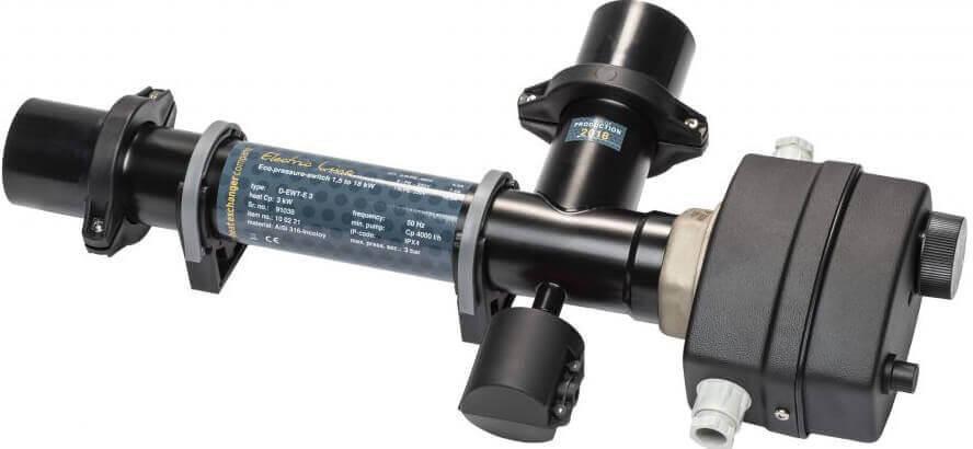 Maxdapra Economy D-EWT-VA, 18 кВт электронагреватель для бассейна, фото 2
