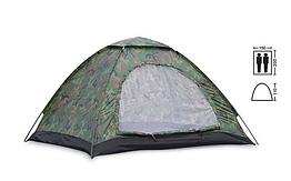 Автоматическая палатка 2-х местная туристическая Камуфляж