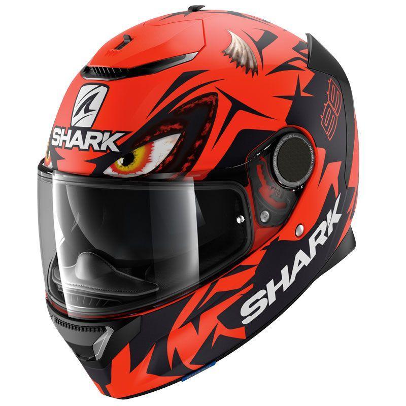 Мотошлем Shark Spartan Lorenzo Austrian GP Matt RKR
