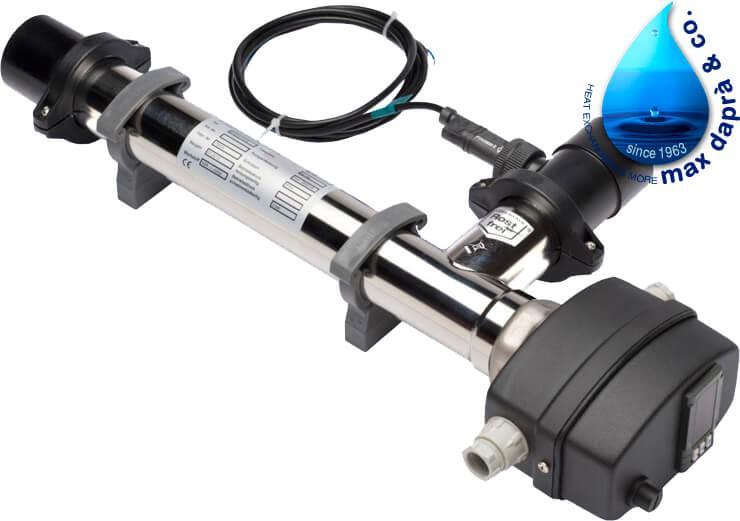 Maxdapra Evo D-EWT-VA, 15 кВт електронагрівач для басейну