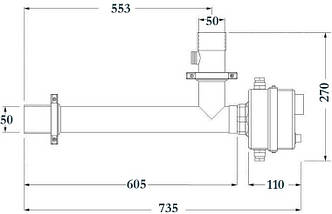 Maxdapra Evo D-EWT-VA, 15 кВт електронагрівач для басейну, фото 3