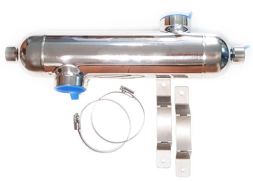 Secespol B45 13 кВт трубчатый теплообменник