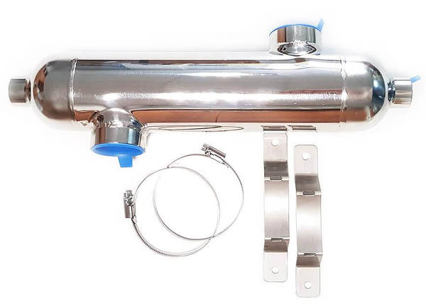 Secespol B300 88 кВт трубчатый теплообменник, фото 2
