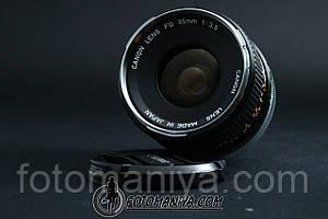 Canon Fd 35mm f3.5
