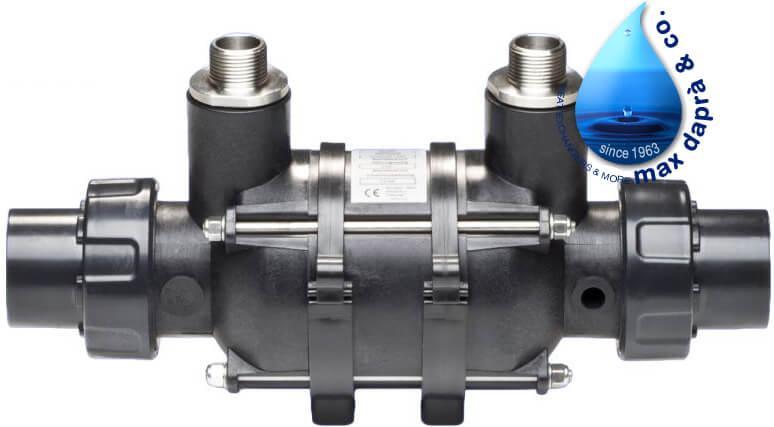 Maxdapra D-KWT-Ti 25 кВт спиральный теплообменник