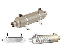 Pahlen Hi-Flow Titan 40 кВт спиральный титановый теплообменник , фото 2