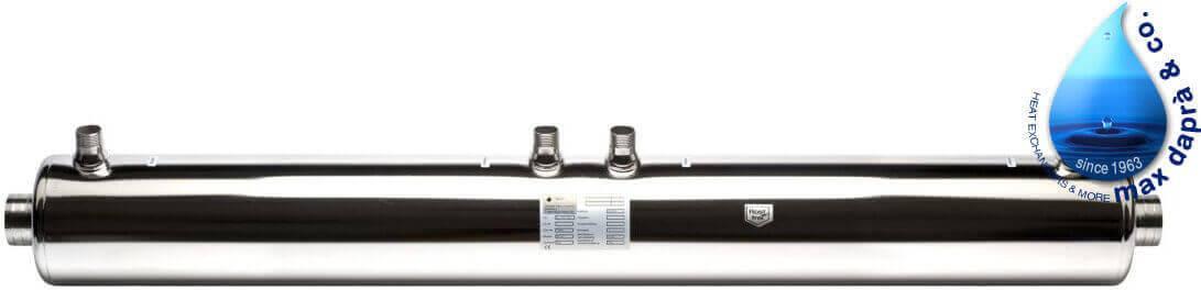 Maxdapra D-HWT-VA 122-146 кВт спиральный теплообменник , фото 2