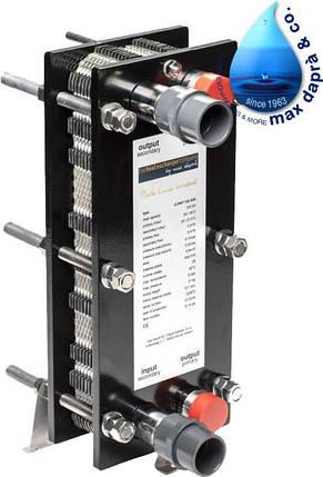 Maxdapra X-PWT 419-VA 135 кВт пластинчатый теплообменник для бассейна, фото 2