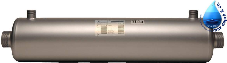 Maxdapra D-TWT-Ti 115 132 кВт спиральный теплообменник , фото 2