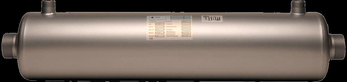 Maxdapra D-NWT-Ti 45 52 кВт спиральный теплообменник низкотемпературный, фото 2