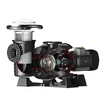 Насос Emaux APS550P (380В, 75м3/ч, 5.5HP), фото 3
